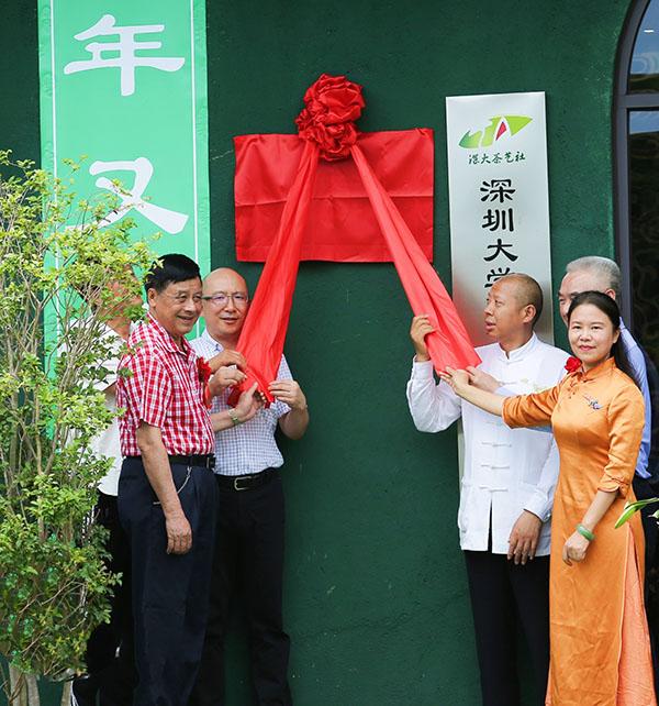 传播茶道精神,拈花微笑茶院桂山禅茶实验基地揭牌